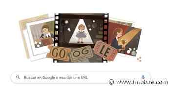 """""""La niña dorada de Hollywood"""": el doodle de hoy le rinde homenaje a Shirley Temple - infobae"""