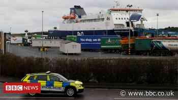 Brexit: EU warns UK over Irish Sea border goods checks