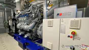 Schorfheide (Landkreis Barnim): Blockheizkraftwerk geht vom Probe- in den Regelbetrieb - rbb24