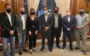 Em encontro com o Governador Claudio Castro, autoridades de Saquarema buscam melhorias para o município - Jornal O Dia