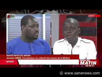 Amadou Sene, Coordinateur du collectif des jeunes.. invité dans infos matin du 09 Juin 2021 - TFM - Actualité au Sénégal