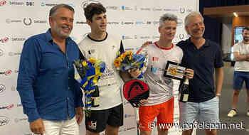 Estocolmo corona a Miguel Lamperti y Arturo Coello - Padel Spain