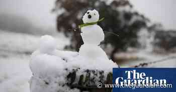 Fresh snow blankets NSW as cold weather descends – in pictures