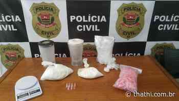 Jovem é preso em Pontal por tráfico de drogas - Thathi