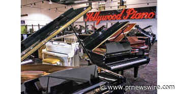 Hollywood Piano in Burbank, Pasadena and Santa Ana Named One of the Top 100 Music Retailers in the World for the 7th Time - PRNewswire