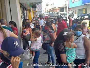 Fiscalização interdita agências de instituições financeiras por aglomeração em Juazeiro do Norte - Diário do Nordeste
