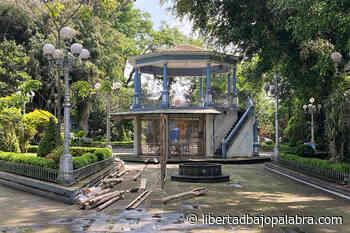 Inician remodelación del parque de Coatepec; obra duraría tres meses - Libertadbajopalabra.com
