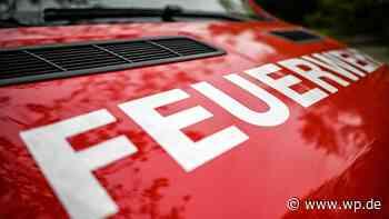 Wehr bekämpft Kleinbrand in Volmarsteiner Industriebetrieb - Westfalenpost