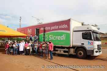 Carreta do Hospital de Amor retorna para mais atendimentos em Nova Alvorada do Sul - Rio Brilhante em Tempo Real