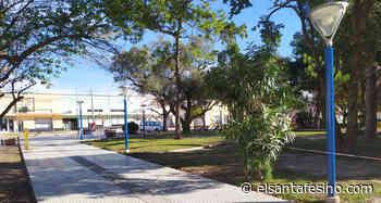 La municipalidad de San Jerónimo Norte realiza mejoras estructurales en la plaza Libertad – El Santafesino - El Santafesino