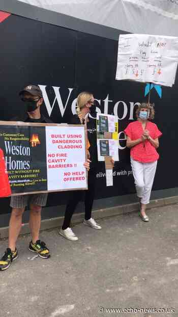 Basildon homeowners demand pay for fire safety measures | Echo - Echo