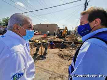 Supervisa Sanmiguel reparación de socavones en Nuevo Laredo - La Verdad de Tamaulipas