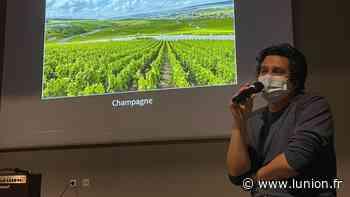 VIDEO. Des élèves du lycée Hessel d'Epernay rencontrent le directeur de production du film Champagne - L'Union