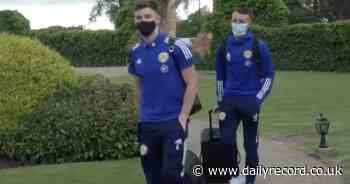 Watch Scotland players arrive at Euro 2020 base camp as Steve Clarke's heroes prepare for battle - Daily Record