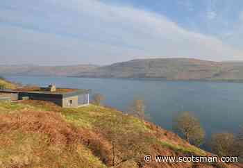 Staycation Scotland 2021: This remote and romantic Hillside Hideaway for two has panoramic views of a shimmering island loch - The Scotsman