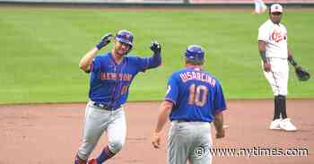 Mets Stay Hot With Blowout of Matt Harvey and the Orioles