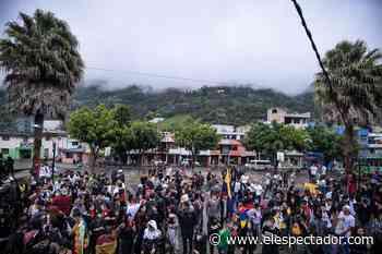 Nariño y Cauca también alzaron su voz: así vivió la juventud otra jornada de paro en San Bernardo - El Espectador