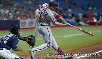 Castro has RBI double in 2-run 11th, Nationals beat Rays 9-7