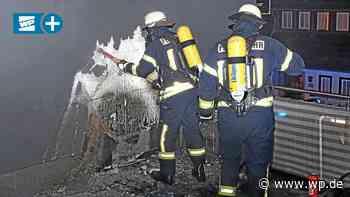 Bad Berleburg: Polizei und Feuerwehr verhindern Schlimmeres - Westfalenpost