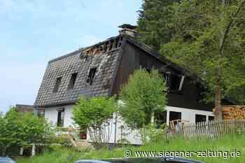 Überwältigt von der Hilfsbereitschaft: Brand in Einfamilienhaus - Siegener Zeitung