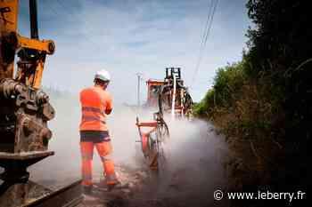 L'enfouissement des réseaux électriques se poursuit à Saint-Amand-Montrond - Le Berry Républicain