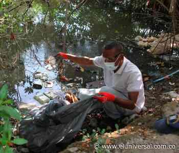 En Día del Medioambiente, realizan limpieza al caño Juan Angola - El Universal - Colombia