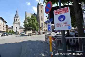 Maskers mogen nog niet af in Bornemse Boomstraat - Het Nieuwsblad