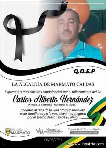 Murió mototaxista en Marmato - La Patria.com