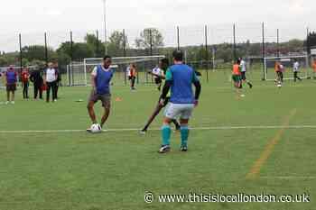 Oxleas NHS staff enjoy free Charlton football tournament