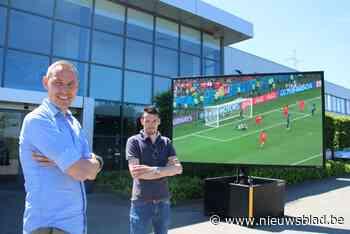 Hoe corona plots toch een opsteker wordt: EK voetbal zorgt voor drukke tijden bij verhuurder van led-schermen