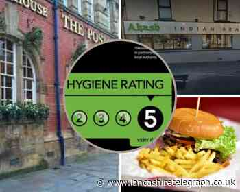 Blackburn with Darwen: Over 250 Pubs and eateries given five-star hygiene ratings