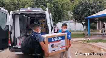 Llegan a Piura más de 80.000 vacunas contra la COVID-19 - LaRepública.pe