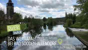 Quer durch das Werratal bei Bad Sooden-Allendorf - Reisereporter