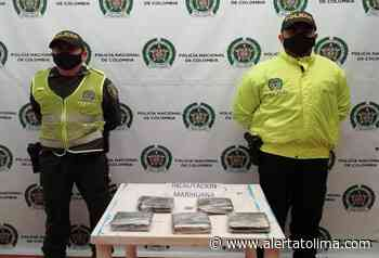 Hallaron 2 kilogramos de marihuana en un vehículo de servicio público en Fresno - Alerta Tolima