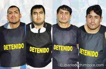 DETIENEN A 4 SUJETOS QUE ASALTABAN EN VÍA CASMA – HUARAZ - Diario de Chimbote