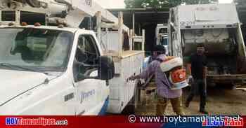 Tamaulipas Gobierno de Altamira sanea vehculos de Servicios Pblicos - Hoy Tamaulipas