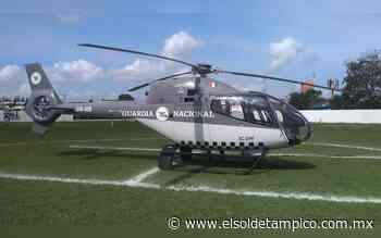 Aterriza aeronave de la Guardia Nacional en Altamira - El Sol de Tampico