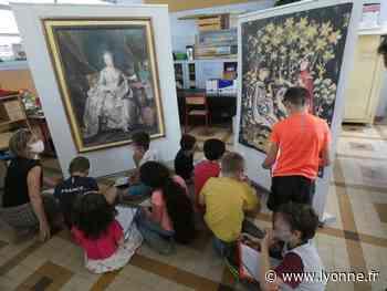 Un peu de la magie du Louvre dans les écoles de Joigny - L'Yonne Républicaine
