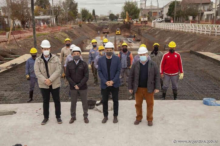 Buenos Aires: Katopodis recorrió obras en Florencio Varela - Argentina.gob.ar Presidencia de la Nación