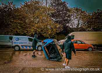 Man vs Car: Boxer attempting to flip car for 24 hours non-stop for charity