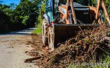 Prefeitura de Silva Jardim realiza limpeza e manutenção em estradas - Jornal O Dia