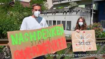 Kritik an Kundgebungen - Gegendemonstranten in Schramberg formieren sich - Schwarzwälder Bote
