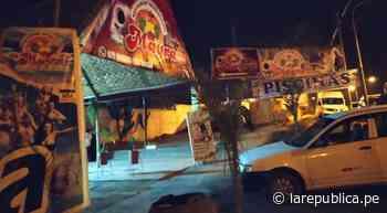 Asesinan de un balazo a hombre en restaurante de Tacna - LaRepública.pe