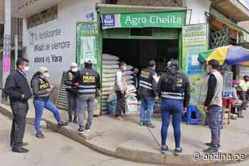 Huancayo: Agro Rural incauta más de 7 toneladas de guano de dudosa procedencia - Agencia Andina