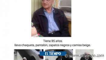 Adulto de 95 apareció sano y salvo en Bogotá - El Tiempo