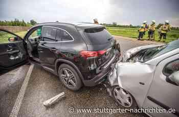 Fellbach - Zwei Verletzte bei Auffahrunfall - Stuttgarter Nachrichten