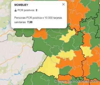 Corrales se declara libre de virus mientras Mombuey y Zamora Sur se tiñen de naranja - Zamora News