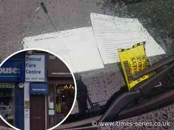 Barnet Council criticised over dental staff parking fines | Times Series - Times Series