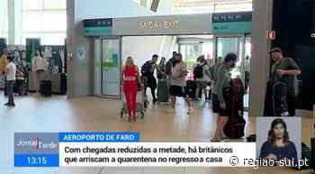 RTP: Continuam a chegar britânicos ao Aeroporto de Faro - Região Sul