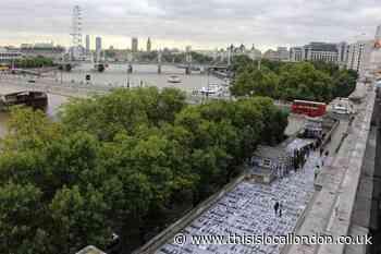 London to host giant public art display to mark Euro 2020